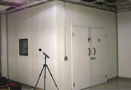 Cabina acústica metálica de alta atenuación