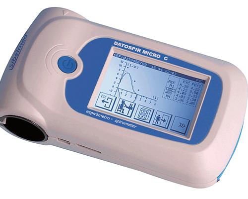 espirómetro touch micro 1